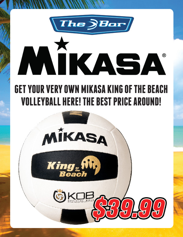 Mikasa King of the Beach Volleyballs For Sale