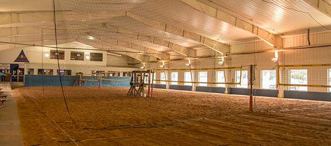 Indoor Sand Courts